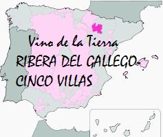 Logo of the RIBERA DEL GÁLLEGO-CINCO VILLAS